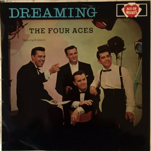Four Aces (The) ‎- Dreaming (LP) (G++/G++)